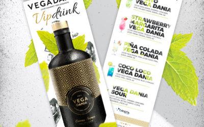 Nueva carta de cócteles veraniegos basados en el licor gourmet artesanal Vega Dania